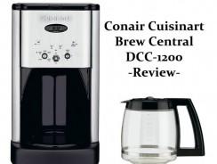 Conair Cuisinart Brew Central DCC-1200 Review