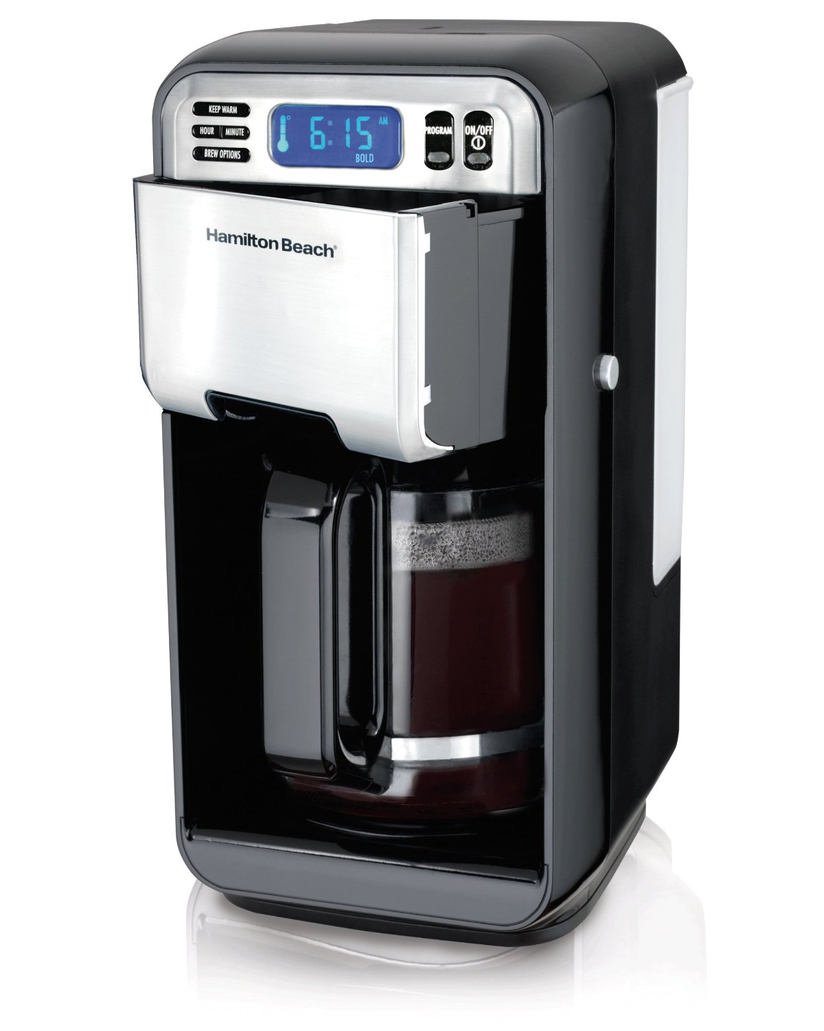 Hamilton Beach 12 Cup Digital Coffee Maker Stainless Steel 46201
