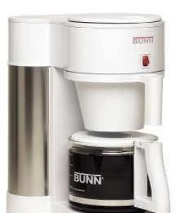 BUNN NHBB Velocity Brew 10-Cup Home Coffee Brewer