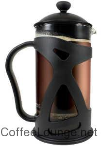 KONA French Press ~ Black Premium Coffee Tea & Espresso Maker with 34-Ounce Heat Resistant Glass and Stainless Steel Plunger