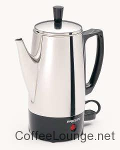 Presto 02822 6-Cup Stainless-Steel Coffee Percolato