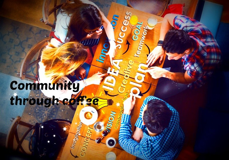 Community Through Coffee