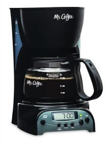 Mr. Coffee DRX5 4-Cup Programmable Coffee Maker