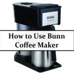 How to use Bunn coffee maker