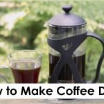 How to Make Coffee Drinks
