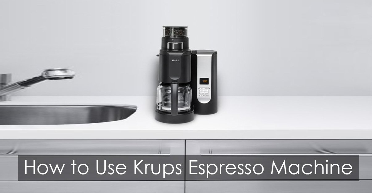 how to use a krups espresso machine