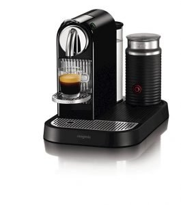 Nespresso-D121-US4-BK-NE1 Espresso Maker with Milk Frother in Black