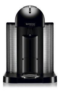 Nespresso VertuoLine Coffee and Espresso Maker with Aeroccino Plus Milk Frother, Black