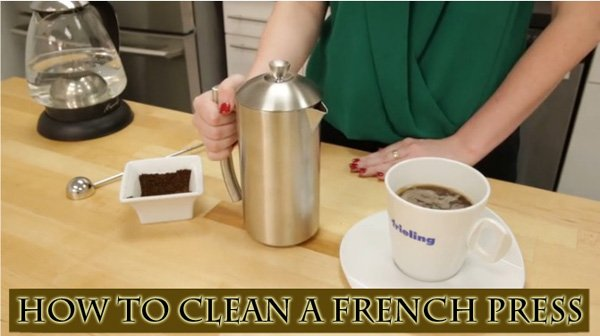 How to Clean A French Press