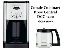 Conair Cuisinart Brew Central DCC-1200 Review