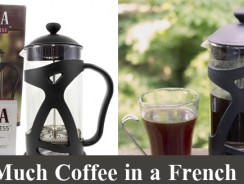 How Much Coffee in a French Press