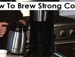How To Brew Strong Coffee