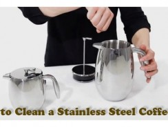 How to Clean a Stainless Steel Coffee Pot