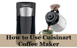How to Use Cuisinart Coffee Maker