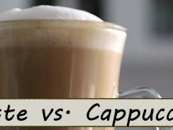 Latte vs Cappuccino