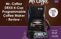 Mr. Coffee DRX5 4-Cup Programmable Coffee Maker Review